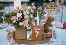 Vintage Whimsical Wedding by Flora Botanica Designs
