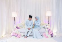 Engagement Ceremony of Hajar & Farith by The Lucid Company