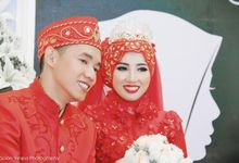 The Wedding of Vindy & Rino by Spion Vespa Photography