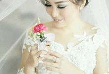 Wedding Gown for Mrs Risca by Deasy Marlina