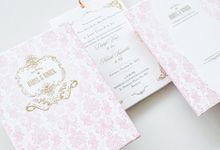 Ornate Chic Vintage Invitation by Tapestry Invitation