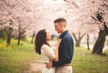 Love at Kintai Bridge by Nizar Wogan Photography