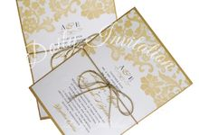 Bridal Shower Invitation by Doily Invitation