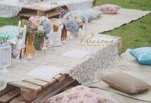 Bohemian Garden Intimate Party by Precious Event Design