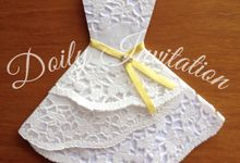 Doily Dress by Doily Invitation