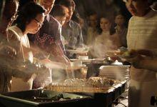 SOPHIE & OYSTEN WEDDING by Eden Hotel Catering