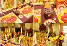Bollywood Theme Bridal Shower by THE CLORIS FLOWER