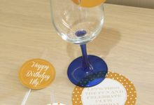 Suci Birthday | white and gold by 99% creative party