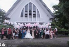 Aldy & Silvia The Wedding by PRIDE Organizer