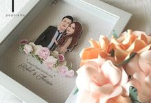 Pastel Soft - Poptraits Signature Frame for the Bride and Groom by Poptraits by Stella