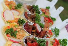 Catering for Ebony and Joel by Eden Hotel Catering
