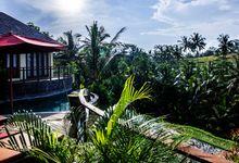 Wedding proposal at private pool villa by Puri Sebali Resort