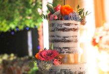 Wedding Cake - Erwin & Yulia by Lareia Cake & Co.
