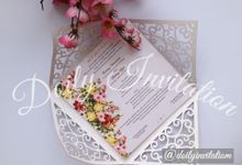Laser Cutting by Doily Invitation