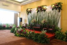 Wedding Nuning and Didi by B'steak Function Hall