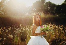 Ajis & Nisya by loveinbali photography