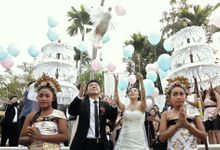 The Wedding of Fio & Santo by Varawedding