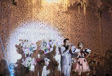 Wedding reception of Andre-Herlina by LIGHT Enterprise
