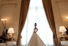 Bridal Photo Shoot by The Fullerton Hotels