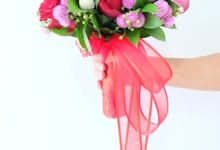 Spring Garden Bridal Bouquet by Il Fiore