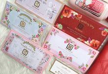 Custom Money Envelope with Premium Paper by Ribbonade.envelope