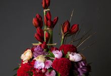 Flora Styling in vase by Beato