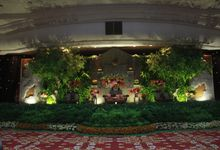 Lois & Diana Wedding at Dhanapala Kemenkeu by Josh & Friends Entertainment
