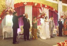 the wedding of moses & melly by Yosua MC