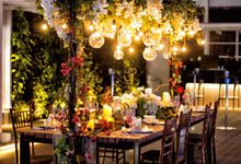 An semi outdoor venue up and above, UNA by Pullman Jakarta Indonesia