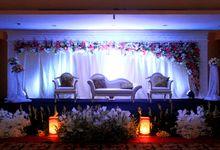 Ballroom Wedding by grandkemang Jakarta
