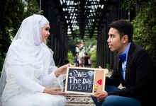 Pre Wedding of Ros and Hakim by FZ Photography