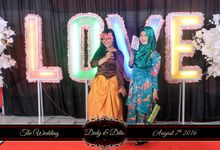 The Wedding of Dedy & Dita by Bless Photobooth