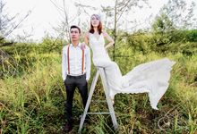 Jazer & Vanessa Pre-Wedding Photography by TheCameraBank