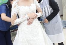 Feraesi Hutapea Wedding Gown by Peivy