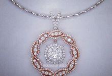 Diamond Pendant by Kapasan Gold