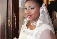 Women of Color Brides by Elza Finishya Makeup Artist