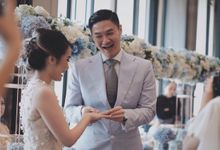 The Wedding of Aoura & Carline by House of Yuen by Sun Tung Lok