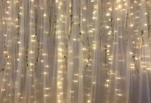 Wedding Fairy Lights Backdrop by Cinderella Dream