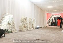 A Modern Twist on Vintage Wedding by Butterfly Event Styling