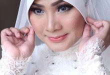 Putri & Kasim Wedding by SYIFAIRFANIMAKEUP