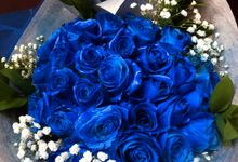 BLUE ROSE by THE CLORIS FLOWER
