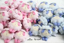 Fluffy Sheep by Cotton Thread