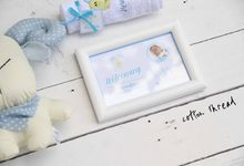 Custom Hampers for Baby Kristoffer by Cotton Thread