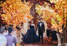 An Autumn Wedding by Our Fairytale Wedding