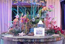 UNDERWATER EMPIRE by Butterfly Event Styling