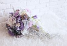 Dreamy Purple and White by Cup Of Love Design Studio
