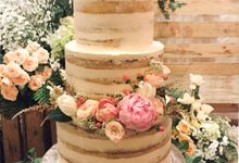 Wedding Cake - Ronny & Winda by Lareia Cake & Co.