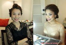 Makeupstory of Verena by Linda Make Up Studio