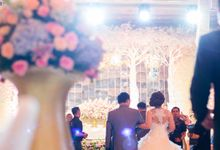 The wedding of Jimmy & Shirley Suncity ballroom by The Swan Decoration
