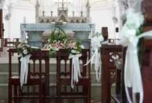 Wedding at st Mary church by Beato